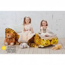 Детская кровать Бельмарко Леопард Пятныш 160 на 70