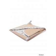 Пеленка с уголком из махровой ткани Сонный гномик