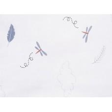 Бортик в кроватку Сонный гномик Стрекоза-Егоза из 12 подушек