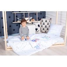 Комплект постельного белья в кроватку Makkaroni Kids Герои 160*80