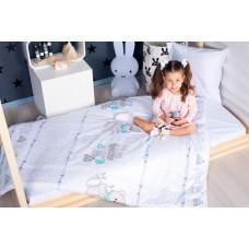 Комплект постельного белья в кроватку Makkaroni Kids Азбука 160*80