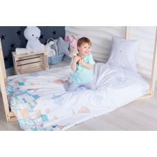 Комплект постельного белья в кроватку Makkaroni Kids Изумрудный город 160*80