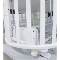 Кроватка-трансформер маятник Кедр Sofia 2 6в1
