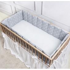 Юбка (подзор) на прямоугольную кроватку