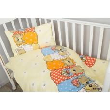 Комплект постельного белья Сонный Гномик Лежебоки 3 предмета