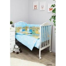 Комплект в кроватку Сонный гномик Лежебоки