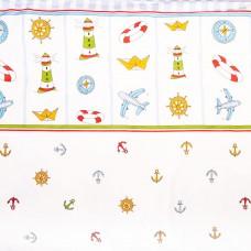 Комплект постельного белья Сонный Гномик Маяк 3 предмета