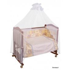 Комплект в кроватку Сонный гномик Считалочка 7 предметов