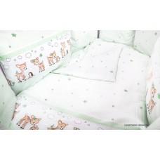 Комплект в круглую кроватку Сонный гномик Оленята