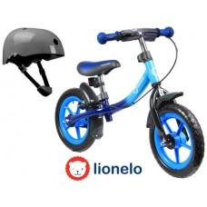 Беговел Lionelo Dan Plus  со шлемом безопасности