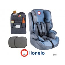 Автокресло 15-36 Lionelo LO-Nico со шторками и органайзером