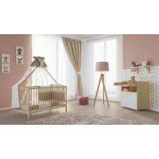 Детская комната Polini Simple 2 предмета: кроватка 101+комод 1270