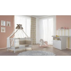 Детская комната Polini Simple 2 предмета: кроватка 101+комод 1290