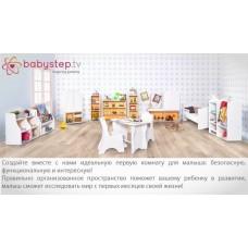 Гардероб детский babystep Классика, 980 открытый