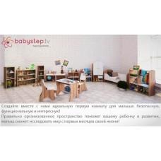 Стеллаж-витрина детский babystep Праздник, 800