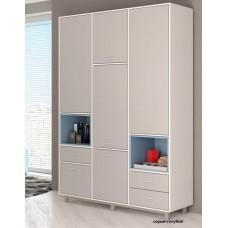 Шкаф трехсекционный Polini kids Mirum 2330