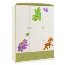 Шкаф трехсекционный Polini Basic Elly