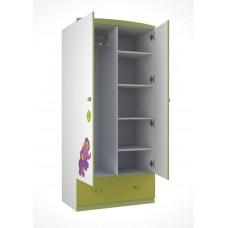 Шкаф двухсекционный Polini Basic Elly