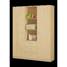 Шкаф трехсекционный Polini Simple