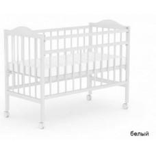 Детская кроватка Фея 203 на колёсах