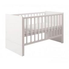 Детская кроватка-трансформер Polini Classic 1414 с боковыми ограждениями