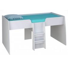 Подростковая кровать - чердак детская Polini Simple 4100 190x90
