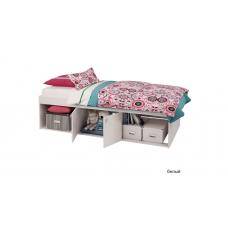 Подростковая кровать Polini Simple 3000 с нишами, 190*90