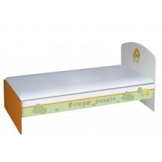 Подростковая кровать Polini Basic Джунгли 180*90