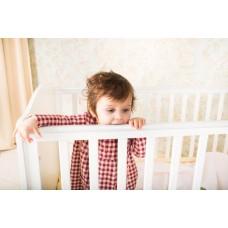 Детская кроватка-трансформер Polini Basic Джунгли 140*70