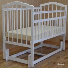 Детская кроватка Malika Melisa-3 продольный маятник