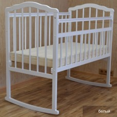 Детская кроватка Malika Melisa-2 качалка на колёсах