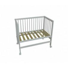 Детская кроватка  приставная на колесах Фея 100