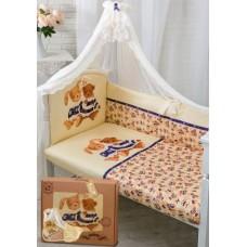 Комплект в кроватку Золотой гусь Умки 7 предметов