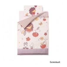 Комплект сменного белья в  детскую кроватку Золотой гусь Ёжик Топа-Топ (3 предмета)