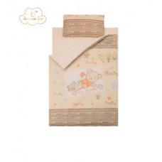 Комплект сменного белья в  детскую кроватку Золотой гусь Zoo Bear (3 предмета)