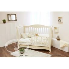 Детская кроватка 140*70 ЕЛИЗАВЕТА С553 Красная Звезда