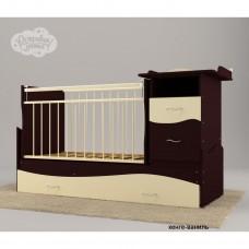 Детская кроватка-трансформер маятник Островок уюта Чунга Чанга
