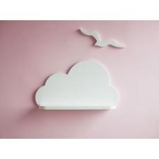 Большое белое облако (березовая фанера+сосна) hand made