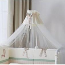 Балдахин для детской кроватки Perina Клюква