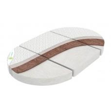Матрац трансформер 3в1 для круглой, овальной кроватки и двух кресел