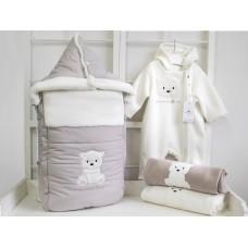 """Конверт """"Полярный мишка"""" для новорожденного Makkaroni Kids"""