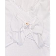 Пеленка на липучках для новорожденных Сонный гномик Бантик