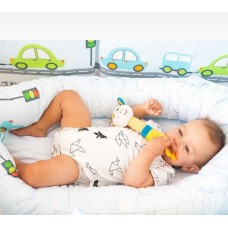Гнездышко для младенцев ByTWINZ Веселый транспорт