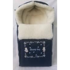 Меховой конверт для новорожденного Арт. 35.3
