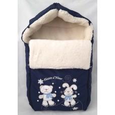 Меховой конверт для новорожденного Арт. 35