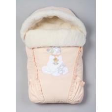Меховой конверт для новорожденного Арт. 35.1