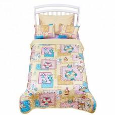 Комплект покрывало с подушками в кровать для дошкольников Giovanni Joy Kids 3 предмета