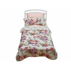 Покрывало с подушками в кровать для дошкольников Giovanni Rose kids 3 предмета