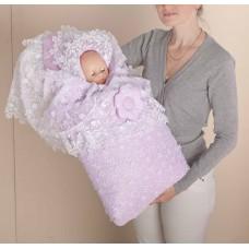 Меховой комплект на выписку для новорожденного Арт. 70