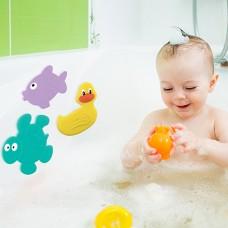 """Коврики для ванны в наборе """"Подводный мир"""", 3шт., от 0мес."""